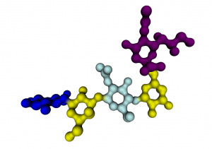 Pentasaccharide LSTc (Glc,Gal,GlcNAc, Gal, NeuAc). Ligand of the Polyomavirus capsid protein (3NXD)